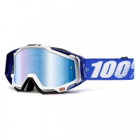100% Racecraft Cobalt Blue Goggle - Mr.Blue
