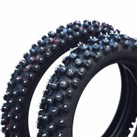 "Dubbdäck Set Bridgestone 12"" / 14"" 65cc Racing .."