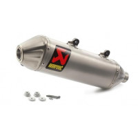 AKRAPOVIC SLIP-ON SILENCER..