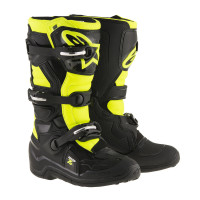 Alpinestars Tech 7s Junior Svart/Fluo..