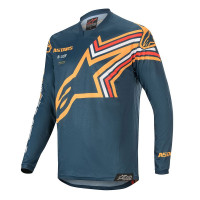 Alpinestars Tröja Racer Braap Blå/Orange..