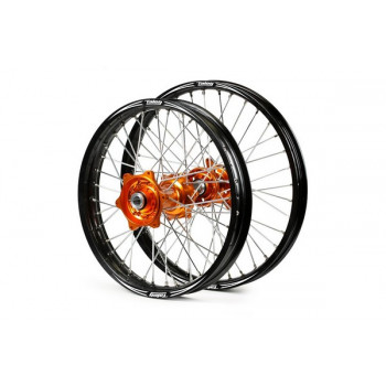 "Talon Hjulsats EVO 21""/18"" KTM125-600 03-12 orange/svart.."