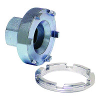 CR/CRF 00- rear wheel bearing retainer removal tool..