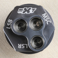 MXT WP Xplr Shock Triple Comp Adjuster - Gun Metal..