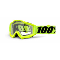 100%, ACCURI Fluo Yellow - Clear Lens, VUXEN..