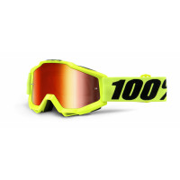 100%, ACCURI Fluo Yellow - Mirror Red Lens, VUXEN..