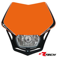 Rtech, Framlampa V-Face, ORANGE..
