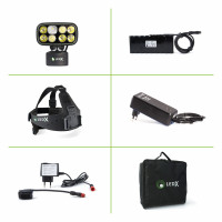 Cobra 6 500 Kit with lamp, headgear pro, battery 10,8 V 113 Wh and aut..