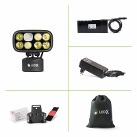 Cobra 6 500 Kit with lamp, battery 11, 1 V 113 Wh, automatic charger a..