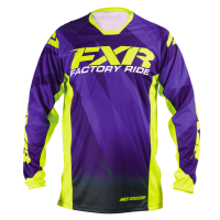 FXR Mission Medium Purple Fade/Hi-Vis