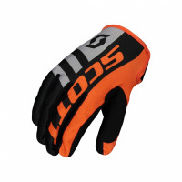 SCOTT HANDSKAR BARN 350 DIRT BLACK/Orange..